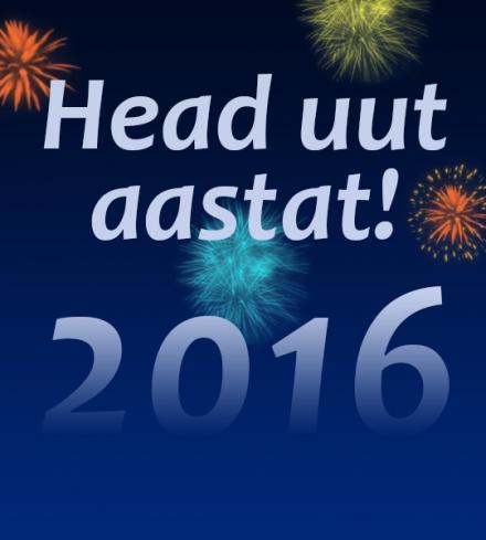 2016 - Head uut aastat