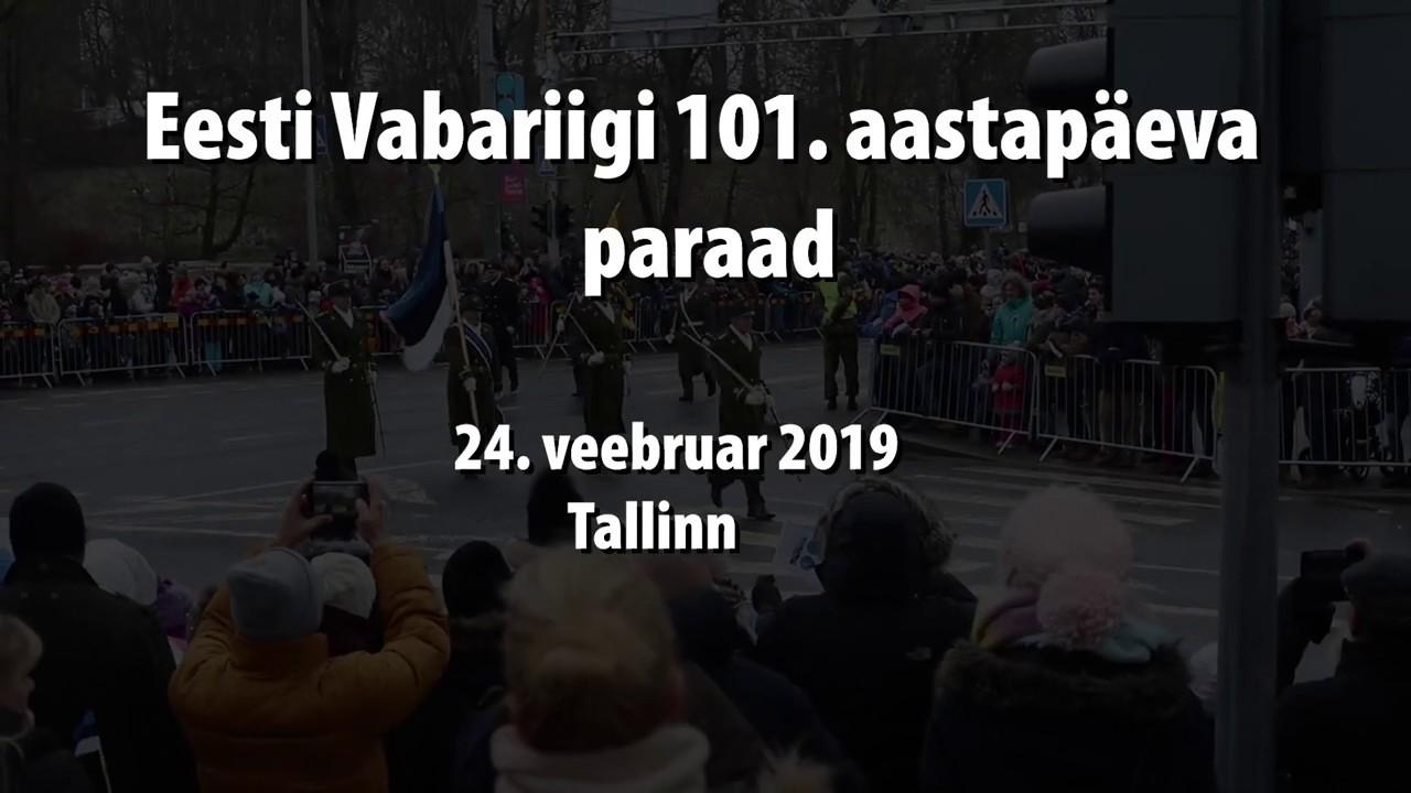 Eesti Vabariigi 101. aastapäeva paraad