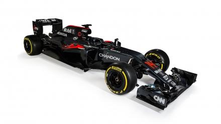 Vormel-1 esmaesitlus 2016: McLaren MP4-31