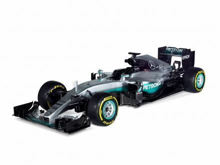 Vormel-1 esmaesitlus 2016: Mercedes F1 W07 Hybrid