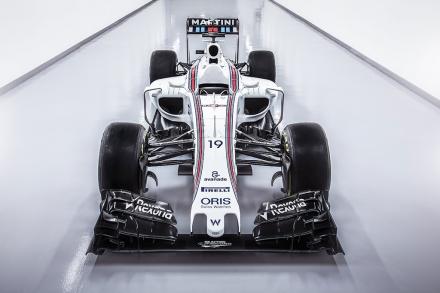 Vormel-1 esmaesitlus 2016: Williams FW38