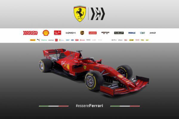 Scuderia Ferrari SF90 pildid