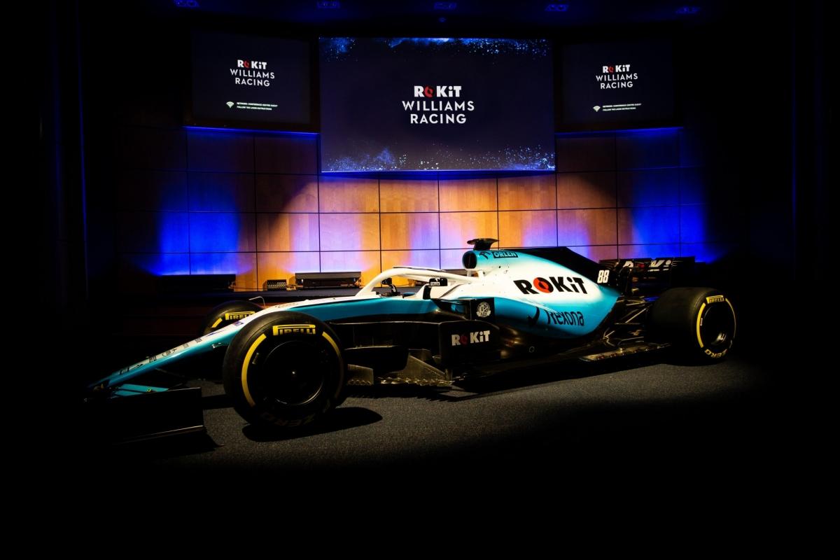 Williams näitas oma uue võistlushooaja peasponsorit