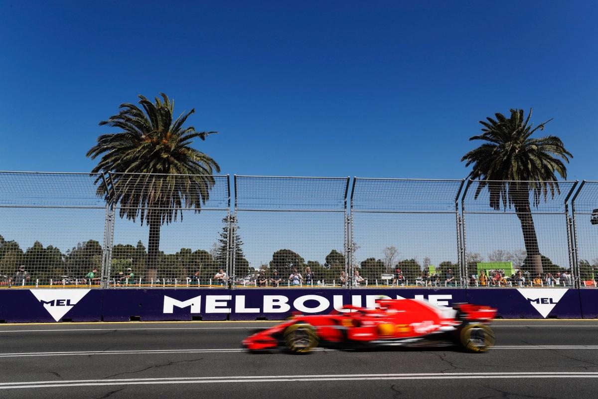 Austraalia GP 2018 ajakava