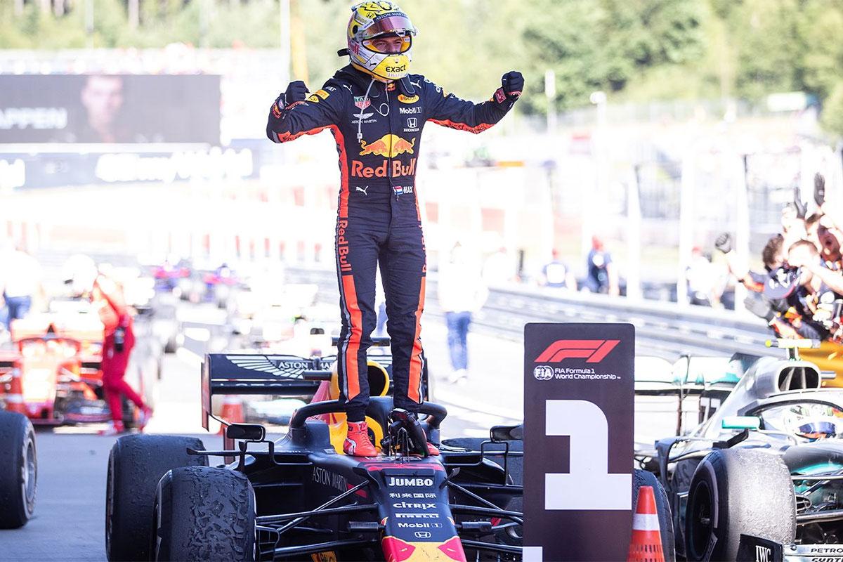 Austria vormel-1 etapi võitis üllatuslikult Verstappen
