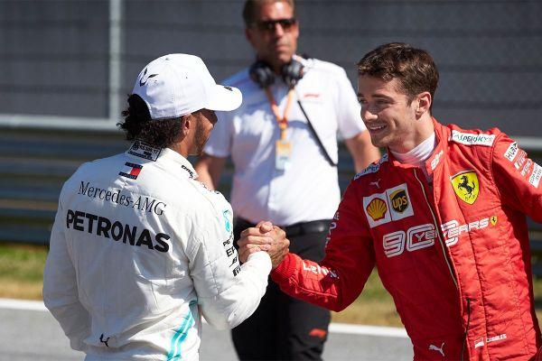 Austria vormel-1 etapile stardivad homme esireast Leclerc ja Hamilton