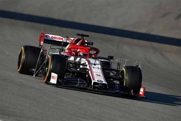Barcelona teise testi esimese päeva kiireim oli Kubica