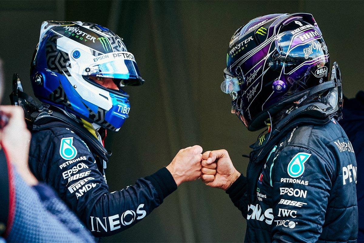 Bottas võitis Eifeli GP kvalifikatsiooni, Hulkenberg jällegi Racing Pointi esindamas
