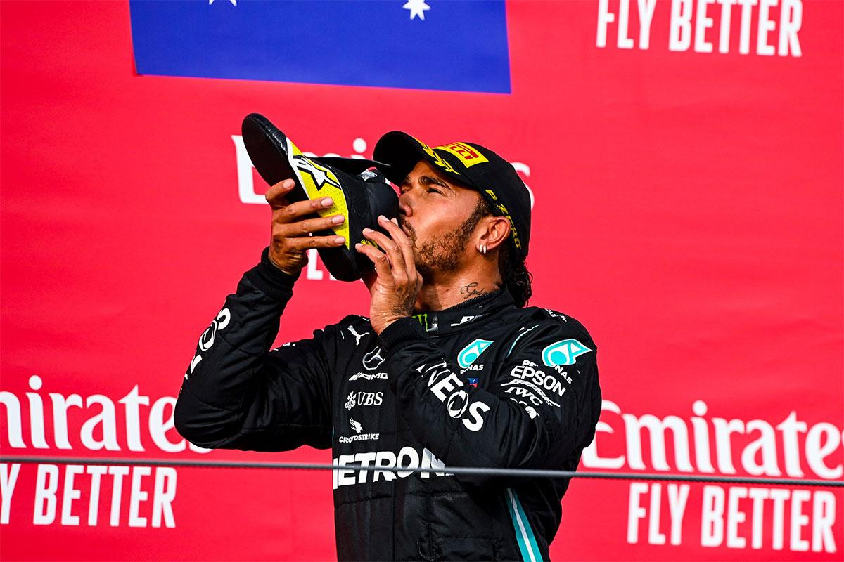 Emilia Romagna GP võitis Hamilton, Mercedes kindlustas konstruktorite karika