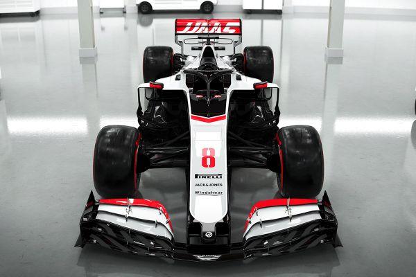 Haas vormel-1 meeskond näitas esimesena oma 2020. hooaja masinat