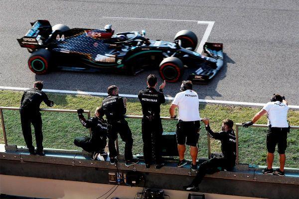 Hamilton võitis esmakordselt peetud Toscana GP