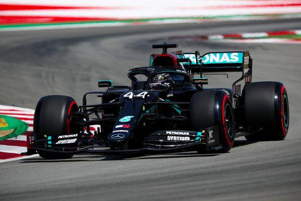 Hamilton võitis Hispaania GP ajasõidu
