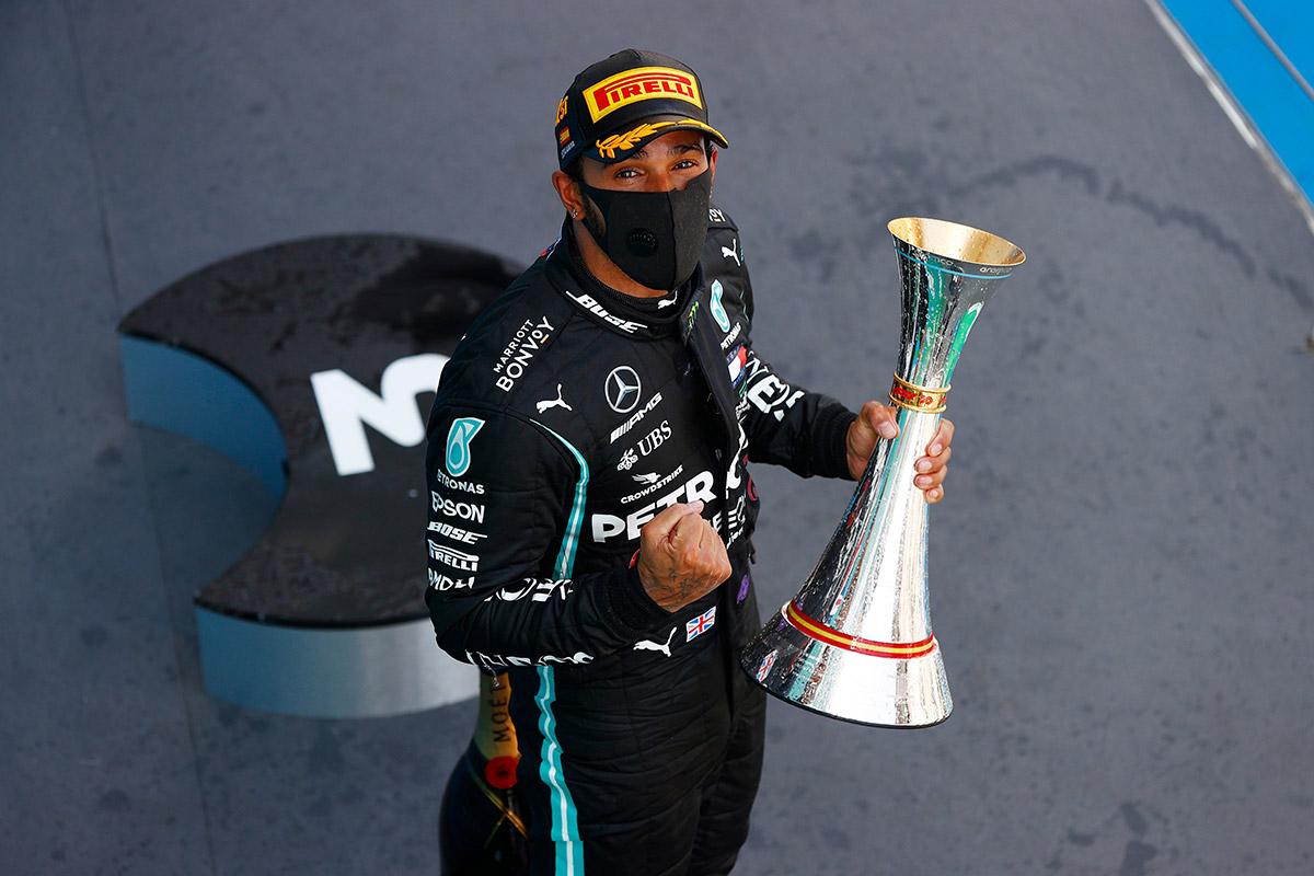 Hamilton võitis Hispaania GP