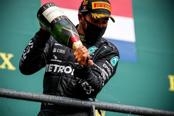 Hamilton võitis kindlalt Belgia GP