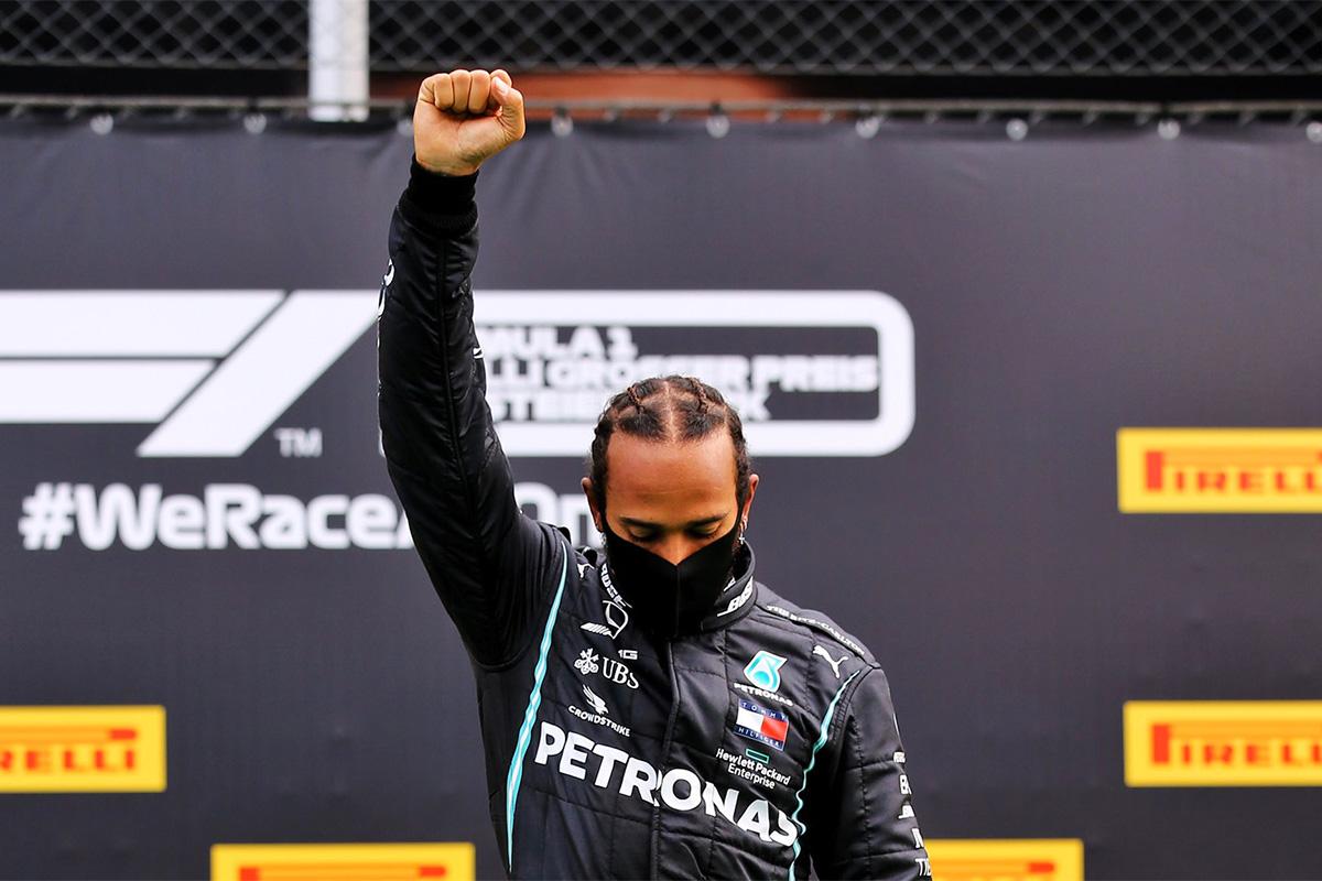 Hamilton võitis Steiermargi vormel-1 GP