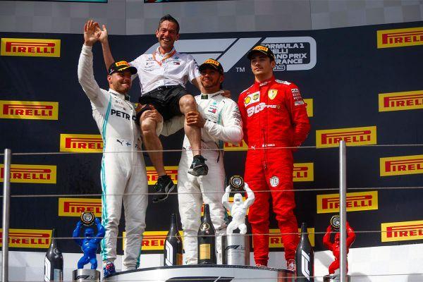 Hamilton võttis Prantsusmaal hooaja kuuenda etapivõidu