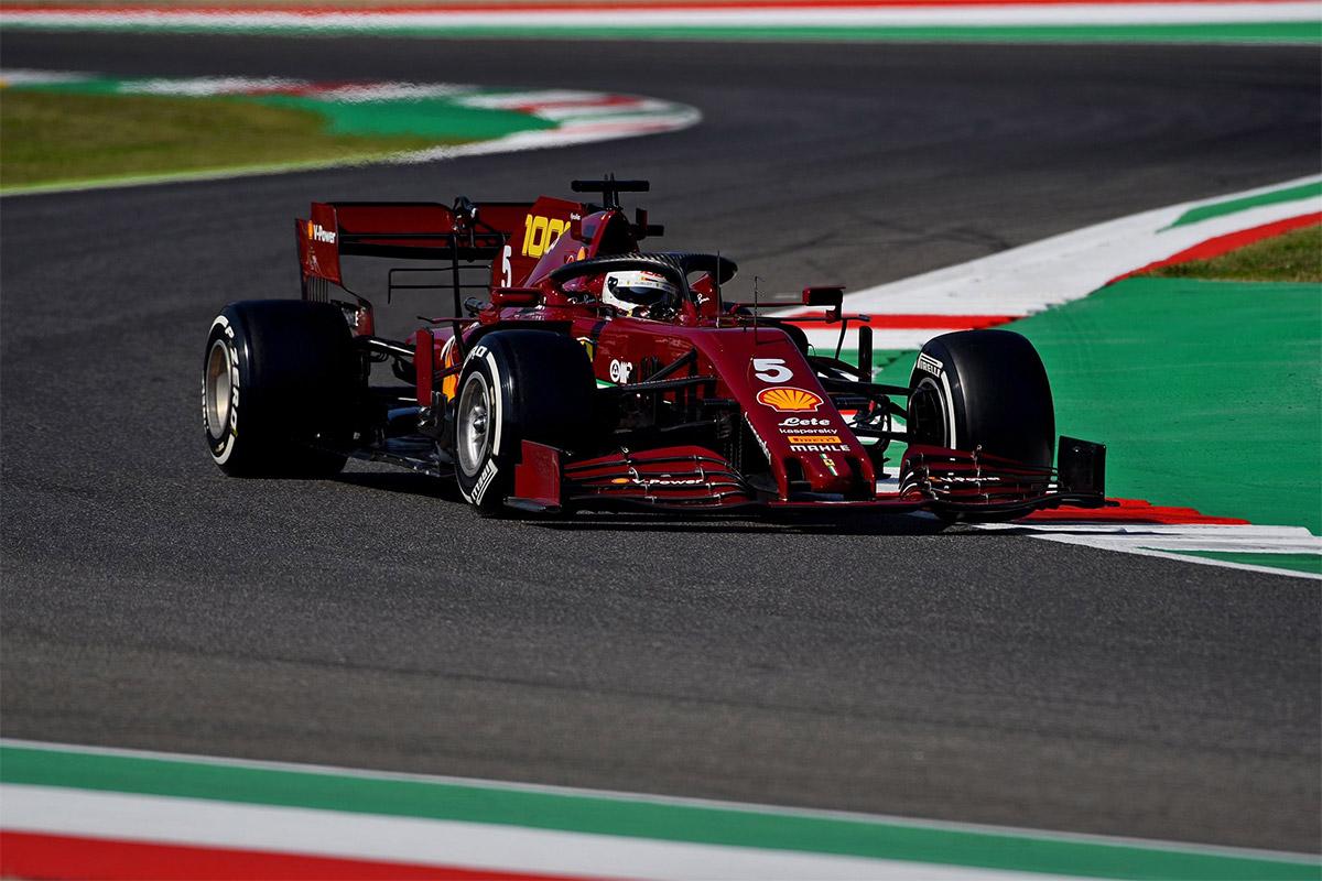 Imestad miks Ferrari vormel-1 masinad näevad sellel nädavahetusel teistmoodi välja?