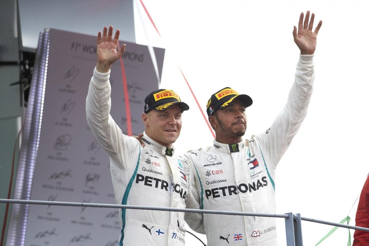 Hamilton oli Itaalias võidukas