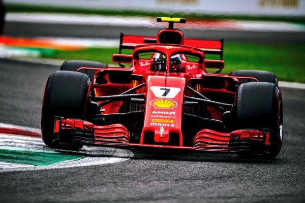 Räikkönen võttis Monzast kvalifikatsioonisõidu võidu