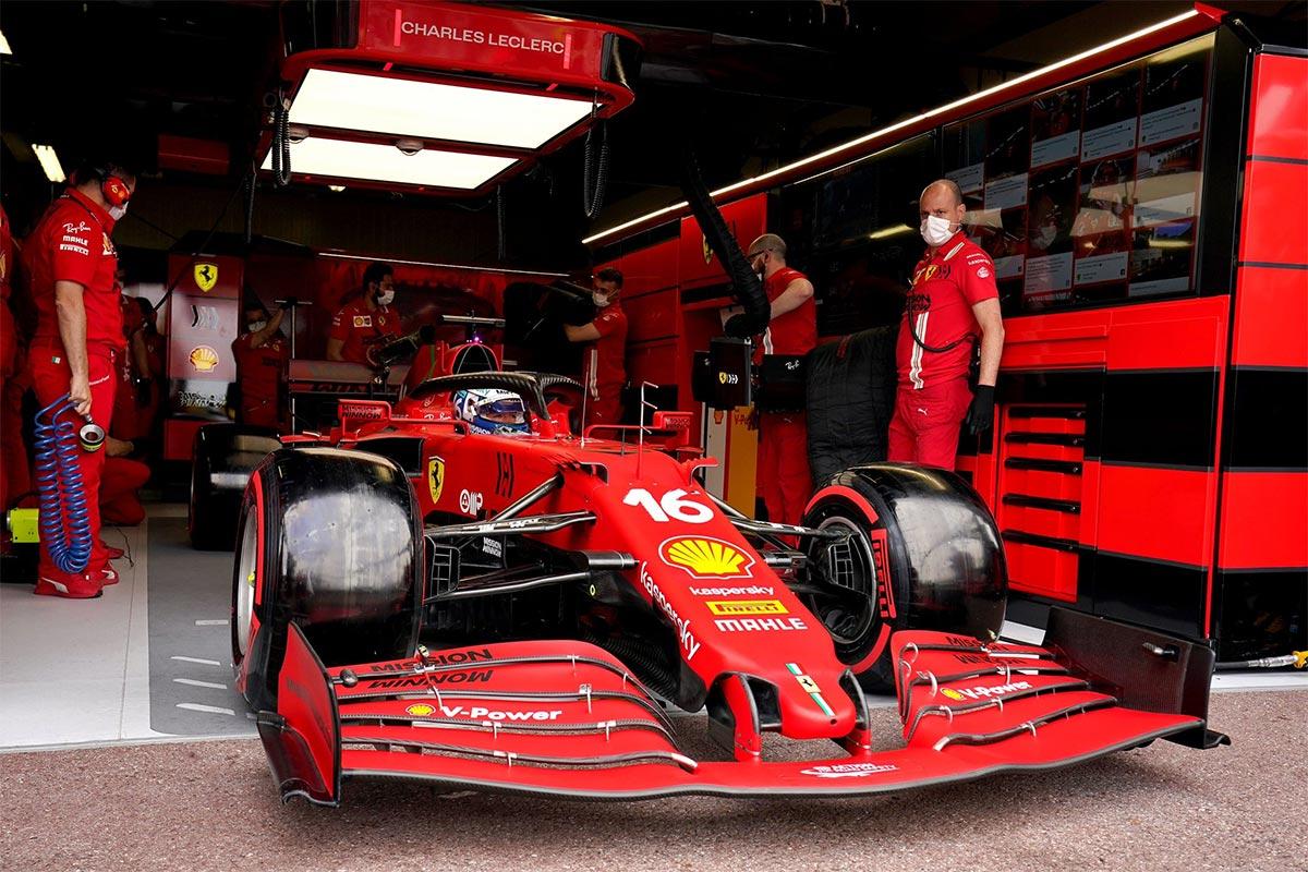 Kvalifikatsiooni võitnud Leclerc jääb siiski Monaco võistlusest kõrvale