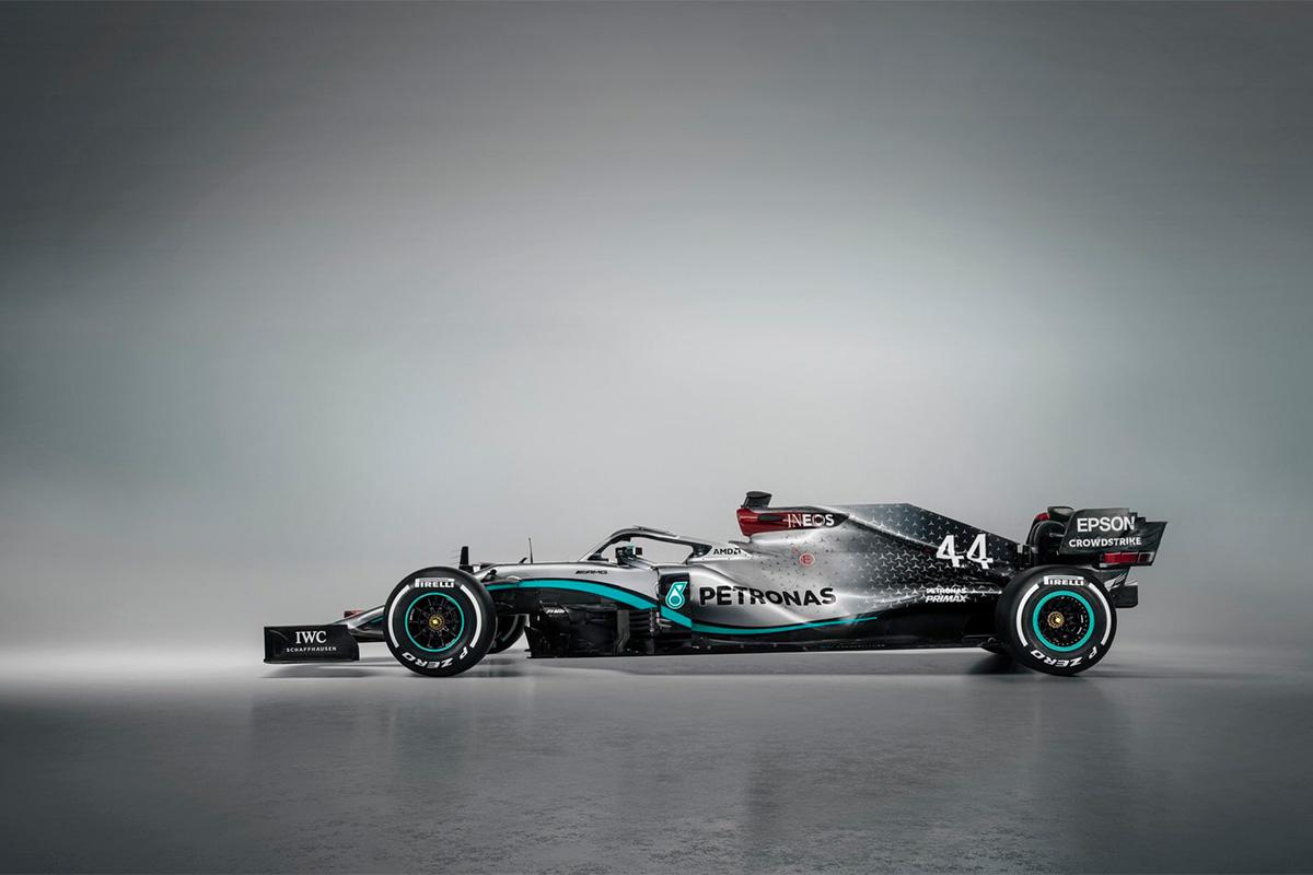 Mercedese 2020. hooaja masina pildid
