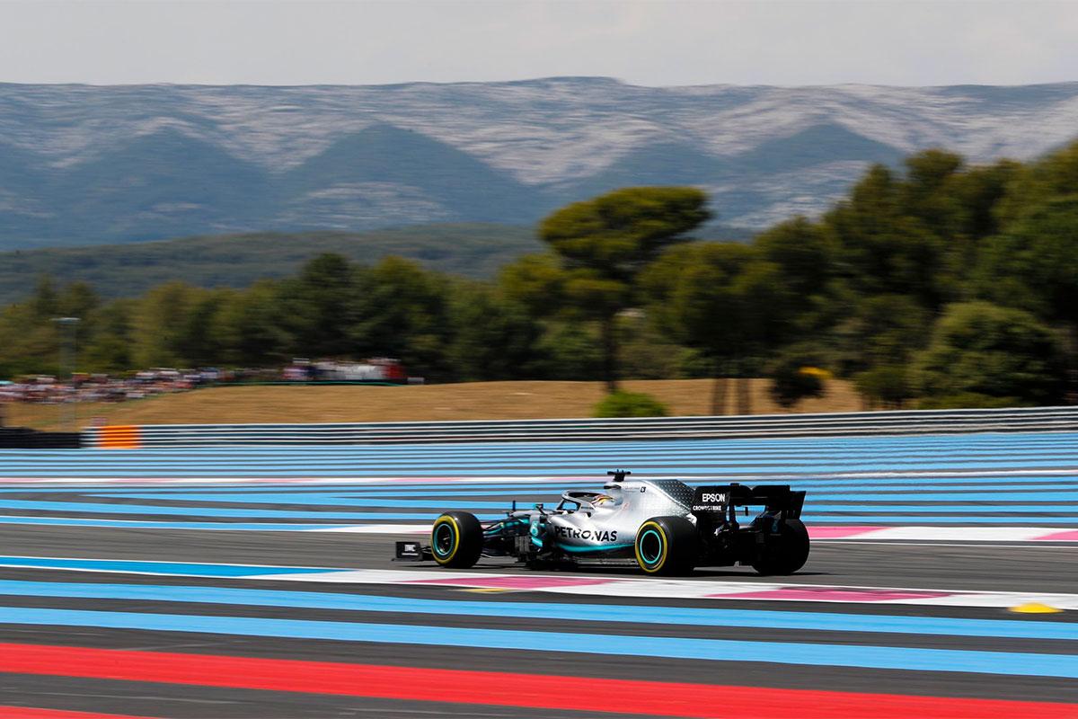 Mercedesed olid Prantsusmaal vabatreeningute kiireimad