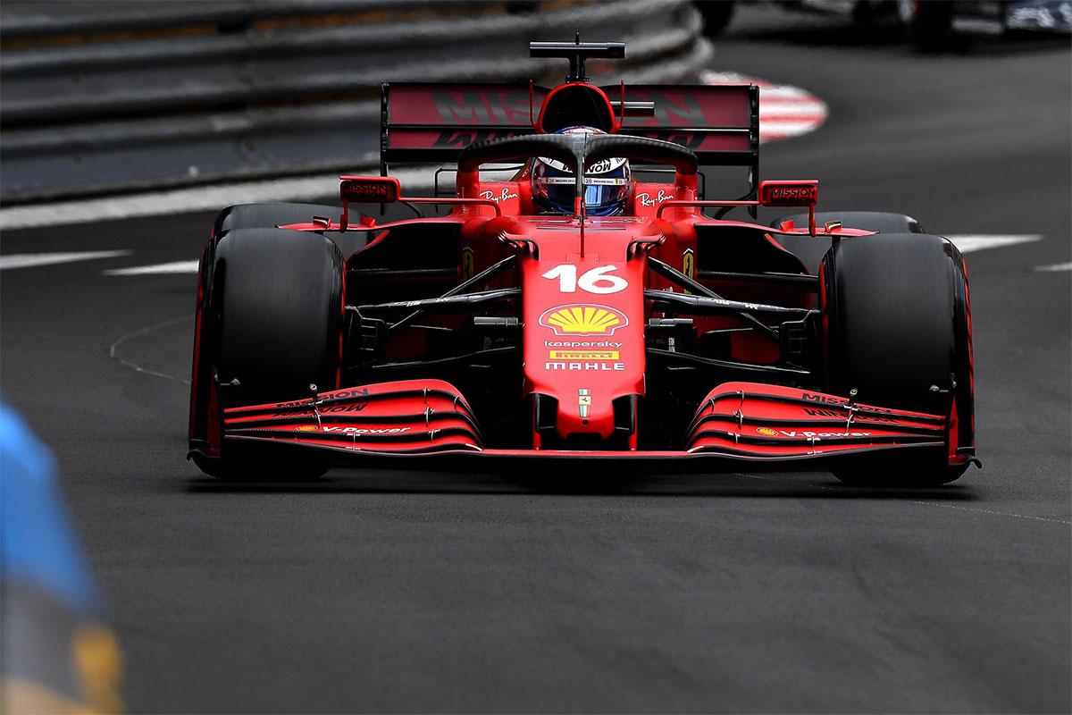 Monaco GP kvalifikatsiooni võitis kodurajal võistlev Leclerc