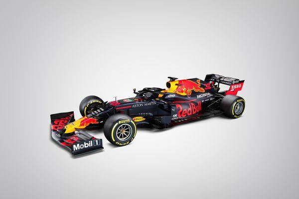 Red Bull avalikustas oma uue hooaja vormel-1 võistlusauto (pildid)