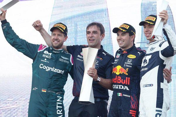 Segastes oludes toimunud Aserbaidžaani GP võitis Perez