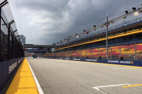 Singapuri GP 2017 ajakava