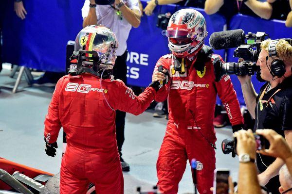 Singapurist Ferraridele kaksikvõit