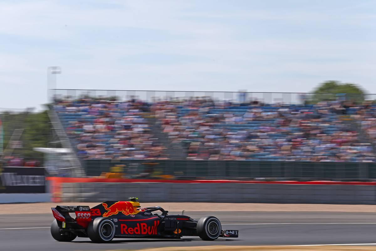 Suurbritannia GP 2018 ajakava