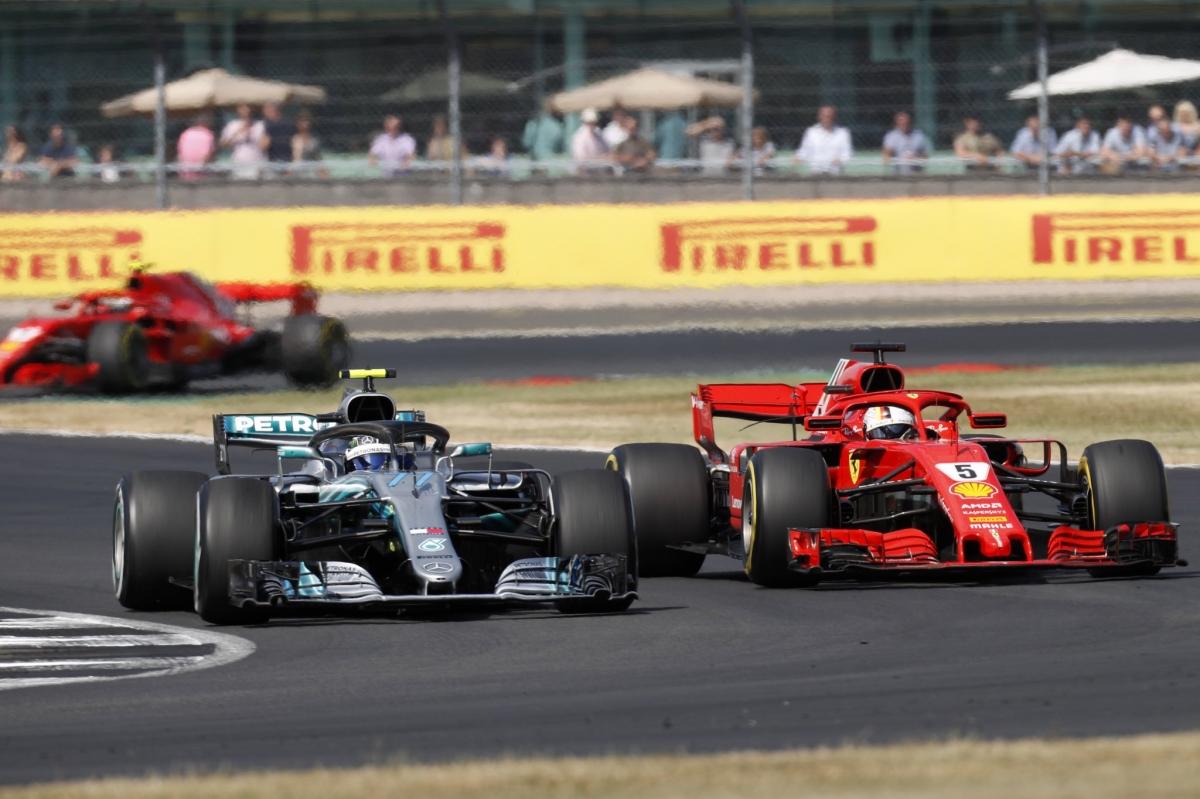 Suurbritannias võitis Vettel