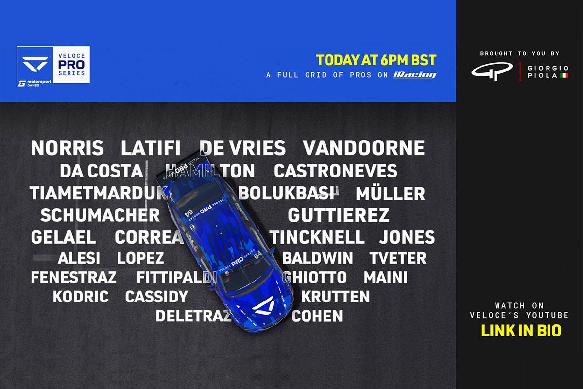 Täna algab nimekate osavõtjatega Veloce Pro Series 2020 espordi võidusõidusari