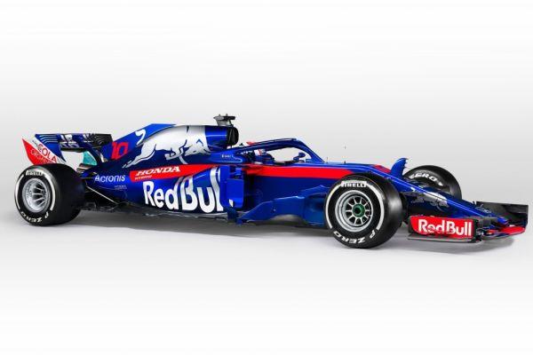 Vormel-1 esmaesitlus 2018: Scuderia Toro Rosso STR13