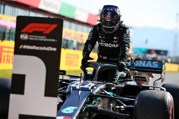 Toscana GP kvalifikatsiooni kiireimad olid Mercedesed