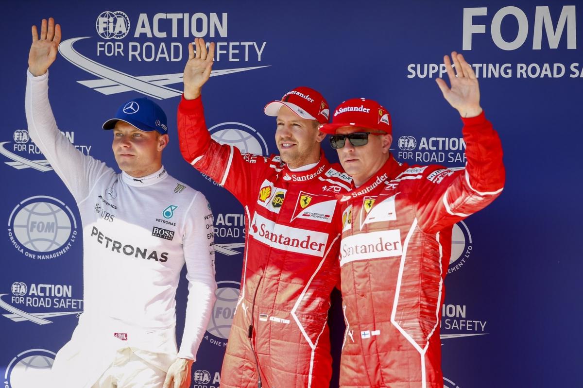 Ungaris näitasid kvalifikatsioonis parimat minekut Ferrarid