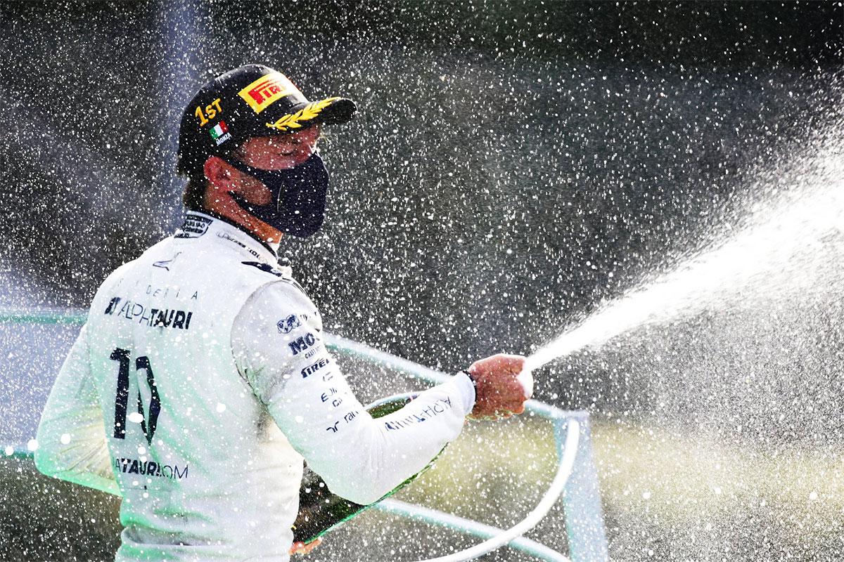 Vormel-1 Itaalia GP võitis üllatuslikult Gasley