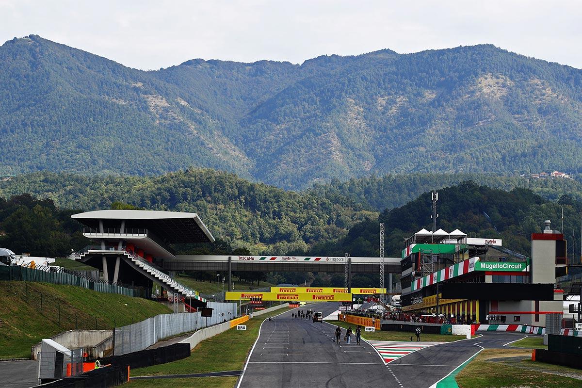 Vormel-1 Toscana GP 2020 ajakava