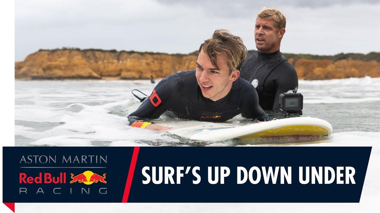 Austraalia GP 2019 - Gasly surfitund Austraalias