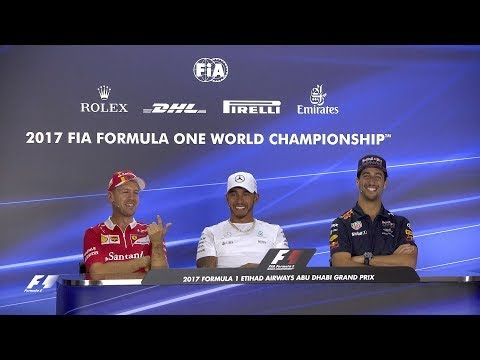 Araabia Ühendemiraatide GP 2017 - neljapäevane sõitjate pressikonverents, Formula1