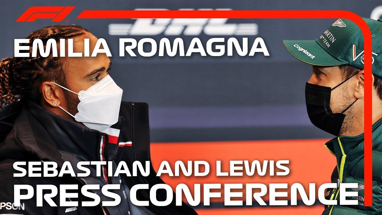 Emilia Romagna GP 2021 sõitjate pressikonverents