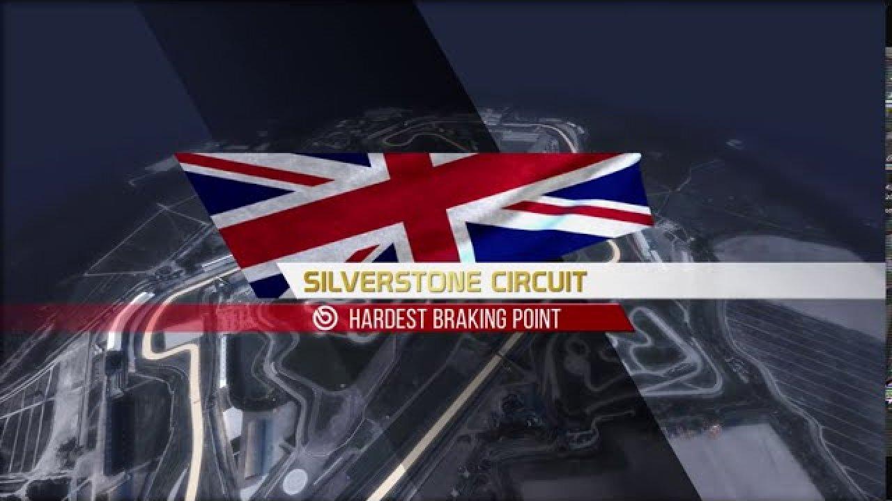 Kus on Silverstone ringrajal suurimat jõudu nõudvad pidurdused?