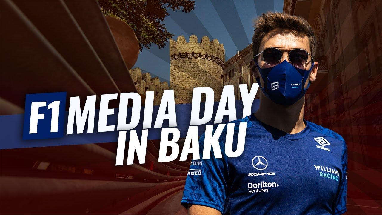 Vormel-1 Aserbaidžaani GP meediapäev ja telgitagused