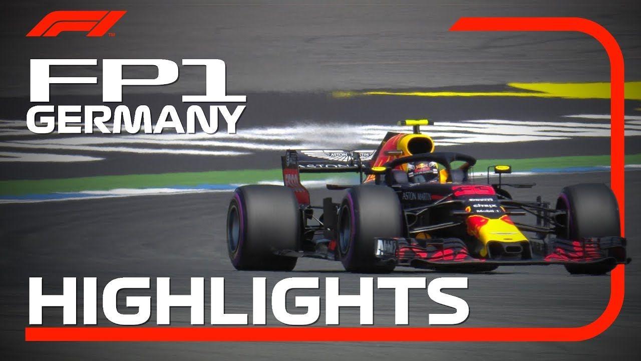 Saksamaa GP 2018 - esimene vabatreening, ülevaade, F1
