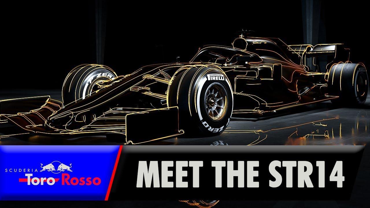 Hooaeg 2019 - Toro Rosso STR14 esmaesitlus