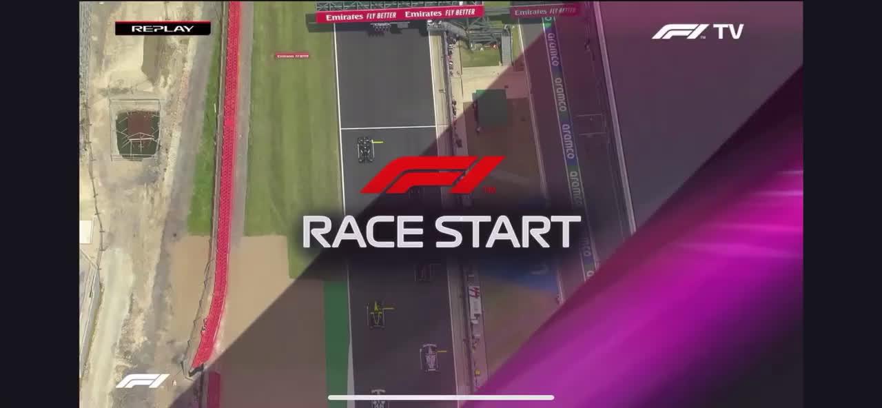 Vetteli spin pärast starti