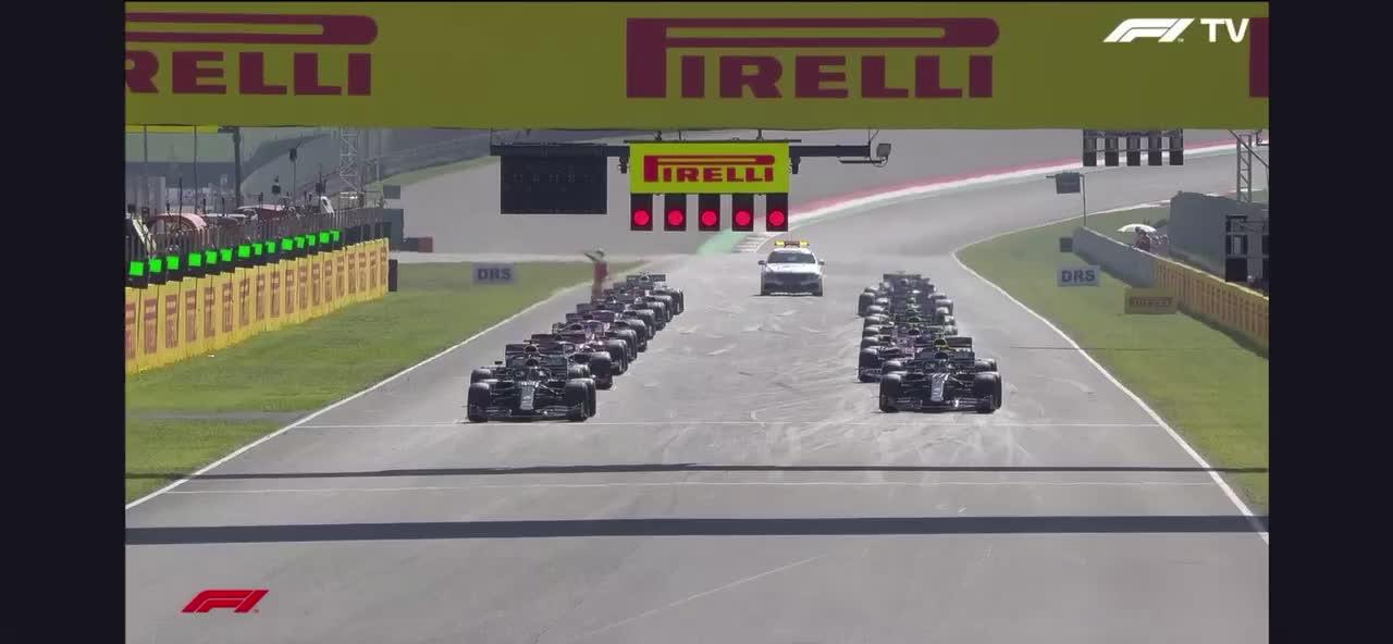 Toscana GP start