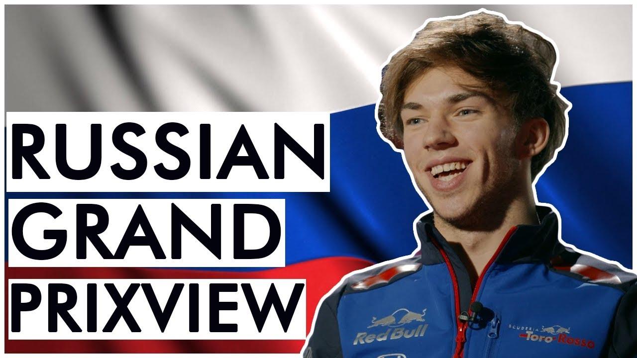 Venemaa GP 2018 - eelvaade, Toro Rosso