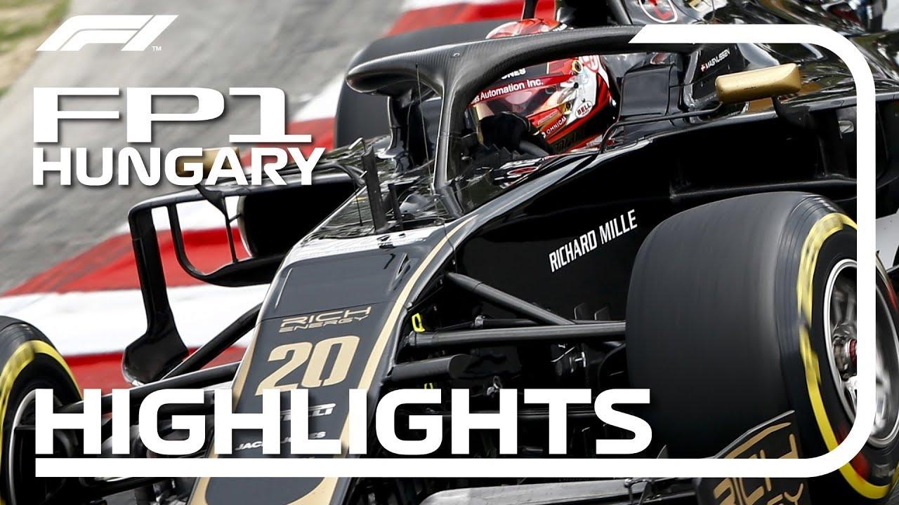 Ungari GP 2019 - esimene vabatreening, ülevaade, F1